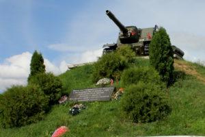 Памятник ИСУ-152 в Скирманово