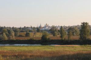 Вид на Лужецкий монастырь. Можайск