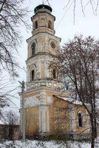 Колокольня Крестовоздвиженской церкви