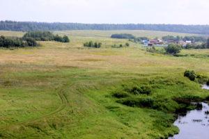 Место, где был пруд на Протве. Борисово