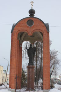 Памятник Николе Можайскому. Можайск