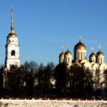 Вид на Успенский собор. Владимир