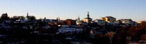 Вид с Соборной площади на Владимир
