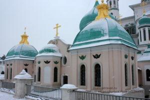 Константино-Еленинский храм. Ново-Иерусалимский монастырь