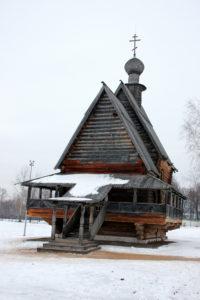 Кремль Никольская церковь. Суздаль
