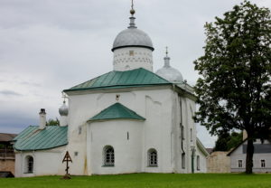 Никольский собор.Изборск