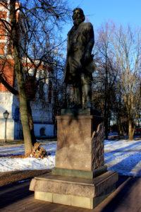 Памятник А.Мальцеву. Гусь-Хрустальный