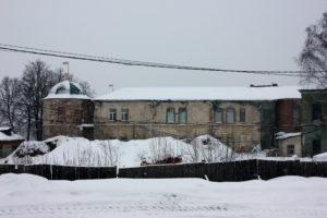 Постройки духовного училища. Вифанский монастырь