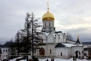 Рождественский собор в монастыре.Звенигород
