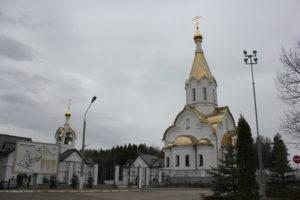 Катынь. храм