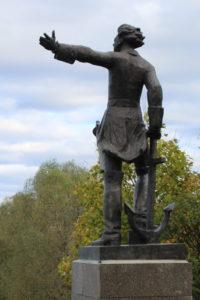 Памятник Петру1. Переславль-Залесский
