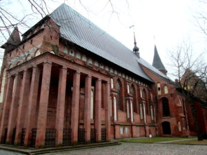 Кафедральный собор, могила канту. Калининград