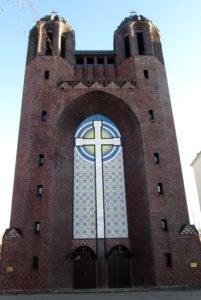 кирха креста. Калининград