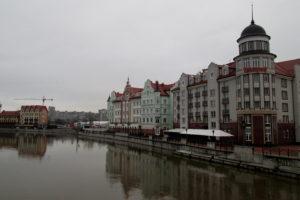 Калининград. Рыбная деревня.