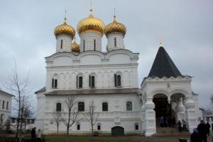Кострома. Монастырь.