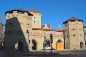 Ворота Изартор. Мюнхен