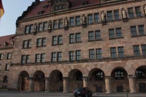 Дворец правосудия. Нюрнберг