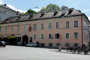 Дом-музей Моцарта. Зальцбург