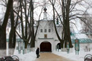 Надвратная церковь. Александров