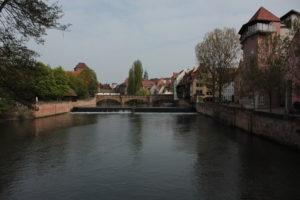 Река Пегниц. Нюрнберг