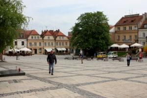 Рыночная площадь. Сандомир