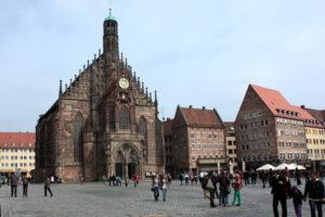 Рыночная площадь. Нюрнберг