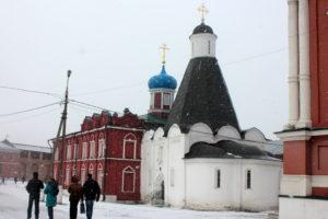 Успенская церковь. Коломна