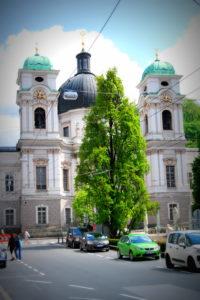 Церковь св. Троицы. Зальцбург