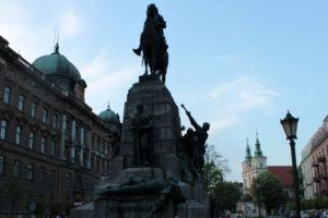 памятник Грюнвальской битвы. Краков