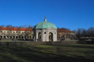 храм дианы. Мюнхен
