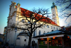 церковь Святого духа. Мюнхен