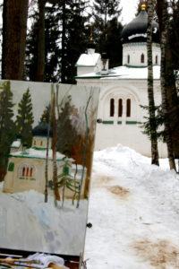Церковь. Абрамцево