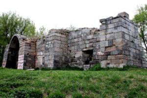 Остатки стен Серпуховского кремля