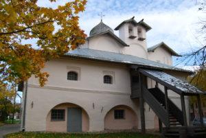 Церковь Жен-мироносиц. Великий Новгород