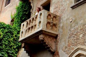 балкон Джульетты. Верона