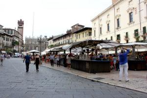 Piazza Della Erbe. ВеронаJPG