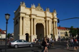 Бранденбургские ворота. Потсдам
