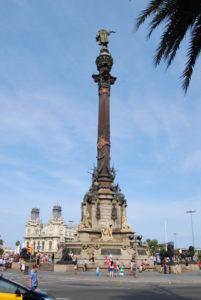 Памятник Колумбу. Барселона