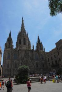 Собор Святого Креста. Барселона