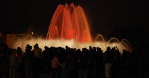 Танцующие фонтаны. Барселона