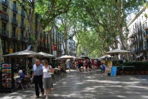 LaRambla. Барселона