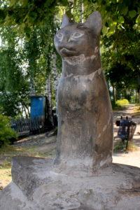 памятник кошке. ПлёсJPG