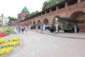 выставка вооружений, Нижегородский кремль