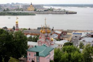 с набережной Федоровского, Нижний Новгород