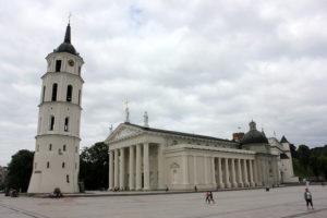 Кафедральная площадь. Вильнюс