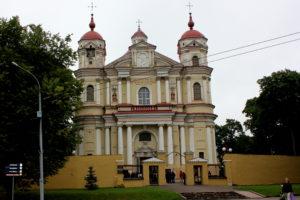 Собор Петра и Павла. Вильнюс