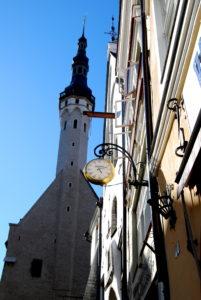 башня ратуши. Таллин