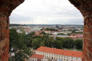с башни Гедимина. Вильнюс