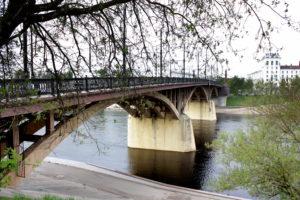 Кировский мост. Витебск