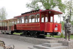 музей трамвая.Витебск